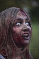 Blond zombie girl 3 by Estelle-Photographie