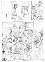 Comic Pencil Work by Kapalsky
