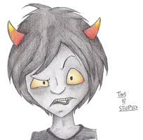 Im on the Homestuck Bandwagon by Pencil-Wolf