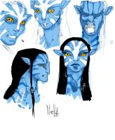 avatar sketch by servatillo
