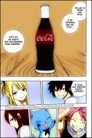 Fairy Tail - Omake Coca Cola by Mey-chian