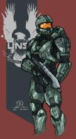 Halo 4 Master Chief by JoeyVazquez