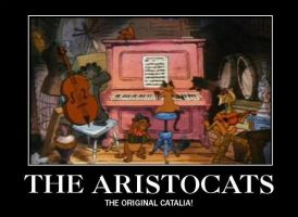 aristocatalia demotivational by GoblinQueenSelene