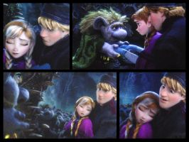 Kristoff and Anna from 'Frozen' by DenaTook