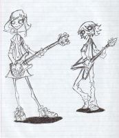 curlbit and slowhand by NowhereBoy