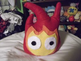 Calcifer hte cute and powerful by EmplehsADeviant