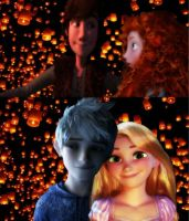 Hiccup and Merida fell in love by insyirah321