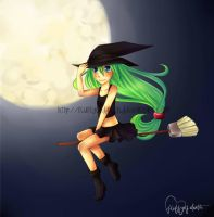 Witchy Girl by fluffyofdeath