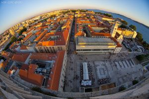 Zadar at 8mm by ivancoric