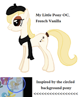 French Vanilla MLP OC by ZumbaZyn