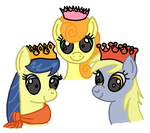 Three Wise Mares - Coloured by Stone39