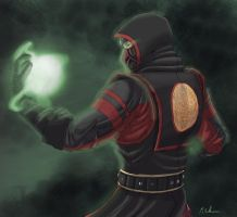 -- Mortal Kombat Tribute -- MK9 Ermac by sarrus