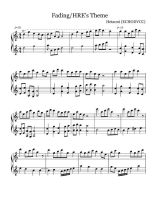 Hetaoni Sheet Music: Fading/HRE's Theme by echodvcc