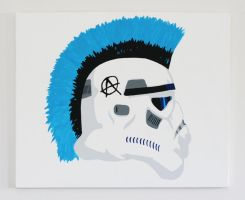 Punk Trooper by roblepitch