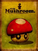 Super Vintage Mushroom by Design91
