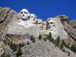 Stock 374 - Mount Rushmore by pink-stock