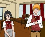 Bleach cafe by verypen
