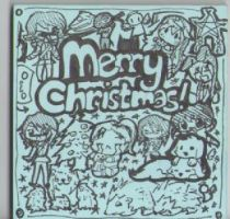 Christmas Doodle by 360DegreesCelsius
