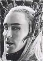 Thranduil - Lo Hobbit by WeskerGray