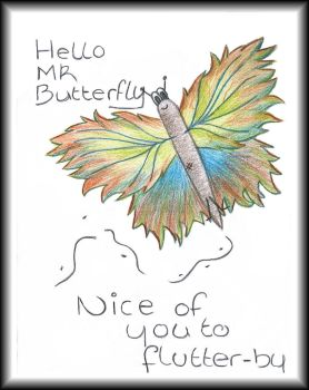 Hello Mr Butterly... by Angel-Soul