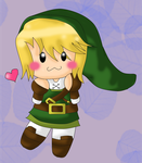 :CR: Chibi Green Love by Marthnely-chan
