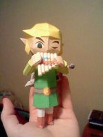 Spirit Tracks Link Papercraft by outlawstarXGP