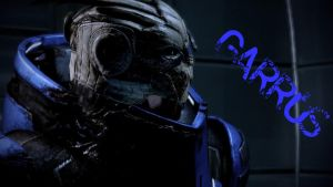 Garrus Vakarian Wallpaper by masseylass