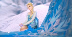 Elsa 1 - Frozen by DugFinn