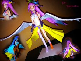 No game no life Jibril papercraft :) by spajkalen