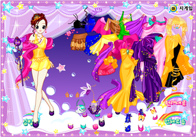 Dream Dancer Dressup Game by willbeyou