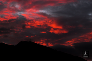 Sky On Fire by DavAguirre