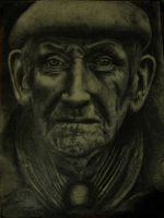 Homeless Man by liliankral