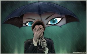 Under my umbrella by Nindza