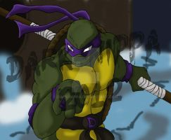 The Best Ninja Turtle... Donatello by Dark-nippa