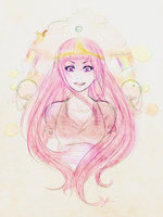 Princess Bubblegum by keenann
