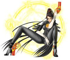 Bayonetta by shinue