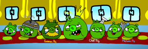 The Bad Piggies by AngryBirdsStuff