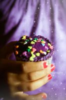 cupcake by Blurry-Photography