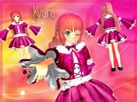MMD- Kyara [ My firts model] DL by TaniaVocaloid