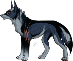 Canine point adoptable (sold) by Skritnaja