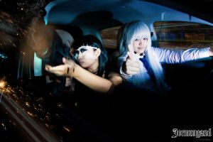Jormungand: Bang! by JoviClaire