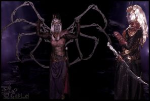 Lolth Costume 2 by GabbyLeithsceal