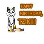 Happy Birthday, Tzikii!! by FlightOfTheSquirrel