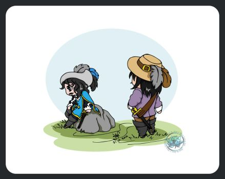 The Three Musketeers - Chibi Musketeers Story 5 by DeathLawliet
