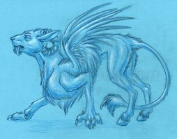 Hooved beast sketch by Zelaphas