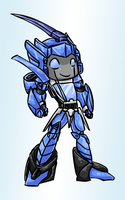 TF Chibi Blurr by LyricaBelachium
