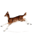 Leaping Fallow Deer by Airashi-and-Raindrop