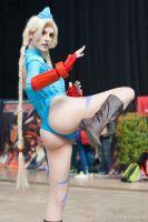 White Cammy Street Fighter by ivettepuig