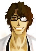 5th Squad Capitan Aizen Souske by Chater