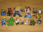 Final Fantasy Bead Sprites by gfroggy87
